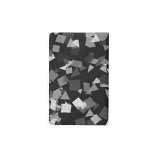 Black and White Confetti Pocket Moleskine Notebook