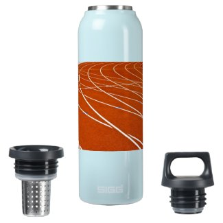 running track insulated water bottle