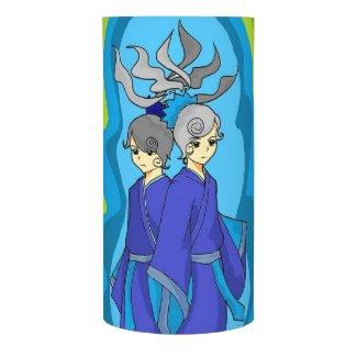 Horoscope Gemini Twins Symbol Sign LED Candle