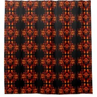 Bronze Beauty Shower Curtain