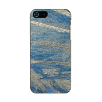 Frosted Blue Metallic iPhone SE/5/5s Case