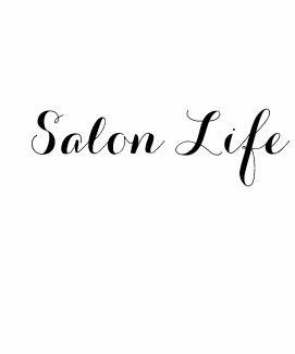 Salon Life Hooded Dress