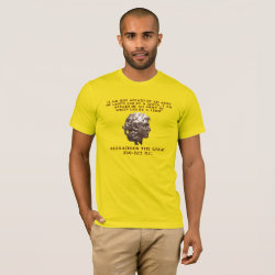 Alexander the Great design by Blue-Eyed Devil, printed on American Apparel T-Shirt from Zazzle