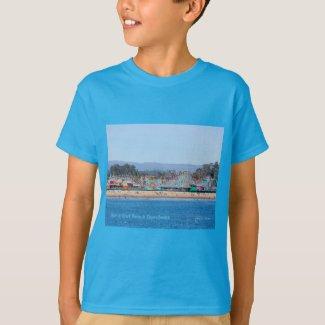 Santa Cruz Beach Boardwalk California Products T-Shirt