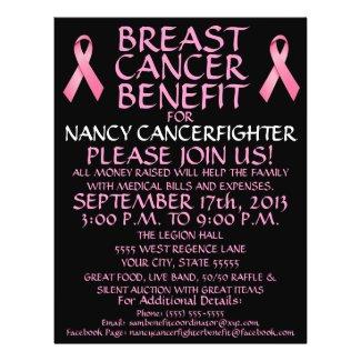 Custom Breast Cancer Benefit Flyer