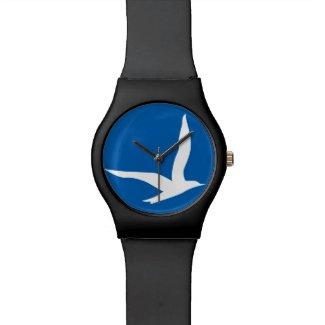 Stay Free Watch Black n Blue