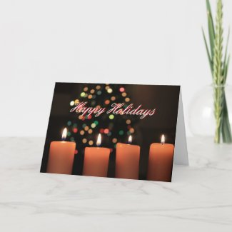 The Light of the Season (3) Greeting Card
