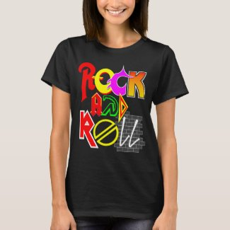 Rock and Roll Women's Basic T-Shirt