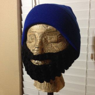Gorrita tejida de la barba del puño - altos del