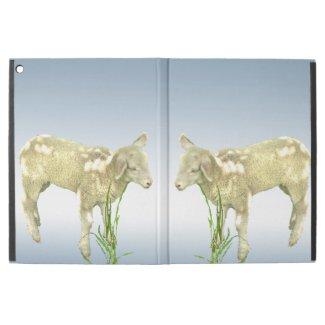Lambs Grazing in Grass iPad Pro Case