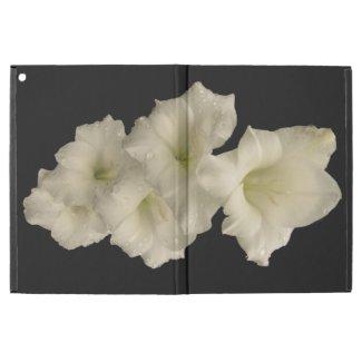 White Gladiola Flowers iPad Pro Case