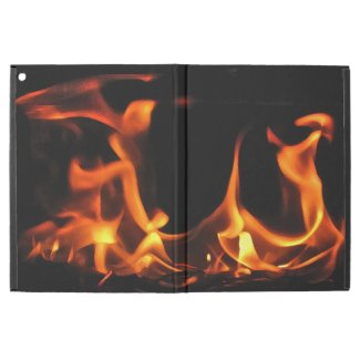 Fire Flame Dancers iPad Pro Case