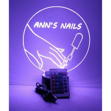 Nail Salon Stylist Beauty Lamp LED Personalized