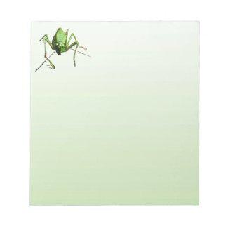 Katydid Notepad