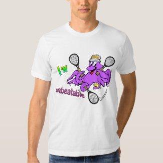 Tennis Octopus Men's Apparel T-shirt