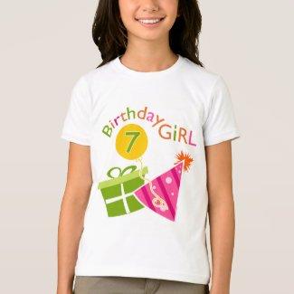 7th Birthday - Birthday Girl T-Shirt