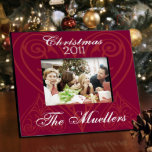 """Christmas Love Holiday Picture Frame<br><div class=""""desc"""">A great way to highlight a favorite photo memory,  this frame is sturdy and stylish. Ideal presents for newlyweds or for your favorite family!</div>"""