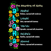 The Meaning Of Aloha Poster Zazzle Com