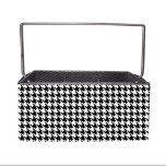 Organize Anything Caddy with Houndstooth Wrap