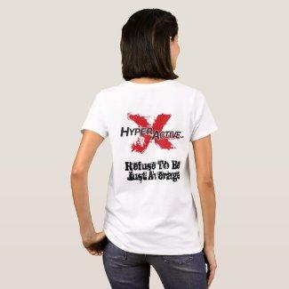 Women's ExtraHyperActive Ambassador T-shirt