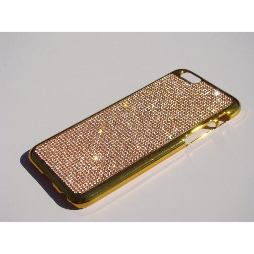 Vintage Rose Gold Crystal iPhone 6/6s Gold Case