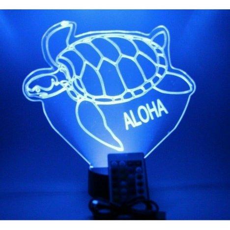 Sea Turtle Night Light Up Lamp LED Personalized