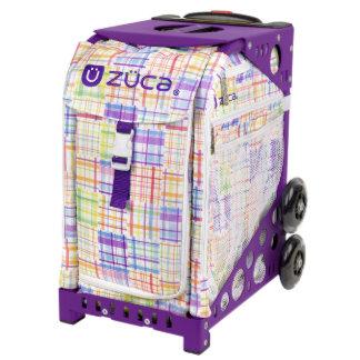 ZÜCA Rolling Bag Patchwork & Purple Sport Frame