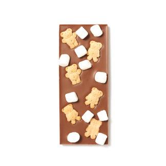 Marshmallow and Graham Teddies Milk Chocolate Bar