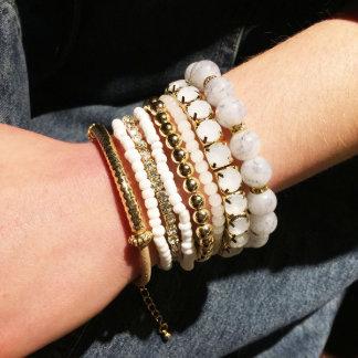 Stretch Stacking Bracelets