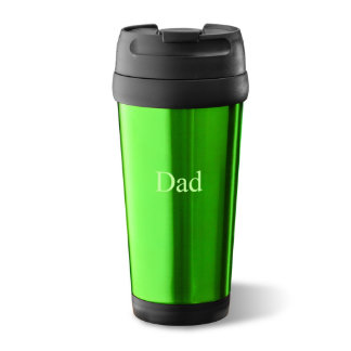 Green On-The-Go Travel Tumbler