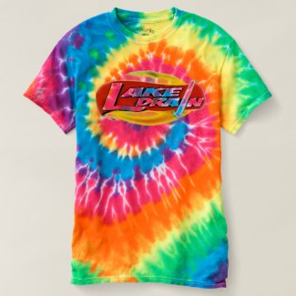 Glo-Sabre™ Lake Drain♨️ Spiral Tie-DYe Guy T-Shirt