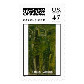 mean green postage