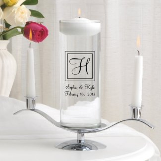 Floating Unity Candle Set - Elegant