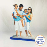 "4x6 Photo Statuette Family Photo Cut Out w/Stand<br><div class=""desc"">What a great way to display your favorite photos around the house or at the office. PhotoStatuettes are high quality made of thick, durable 1/4"" acrylic. Our proprietary printing process produces vivid full color with a beautiful, classy Matte finish with a nice sheen to help your PhotoStatuette shine! Your PhotoStatuette...</div>"