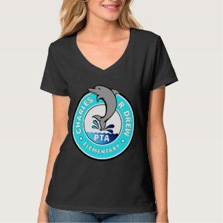 Large Logo, White - Women's Tee Shirt