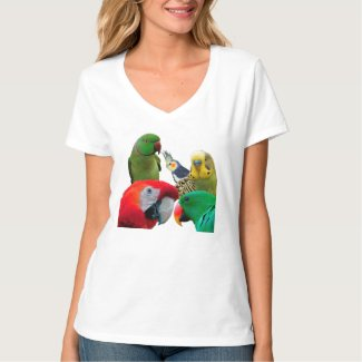 Parrots Lovers Tshirt