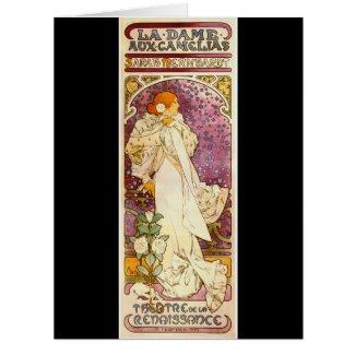 Vintage Playbill 1896 Card