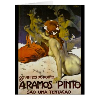 Wine Ad 1915 Card
