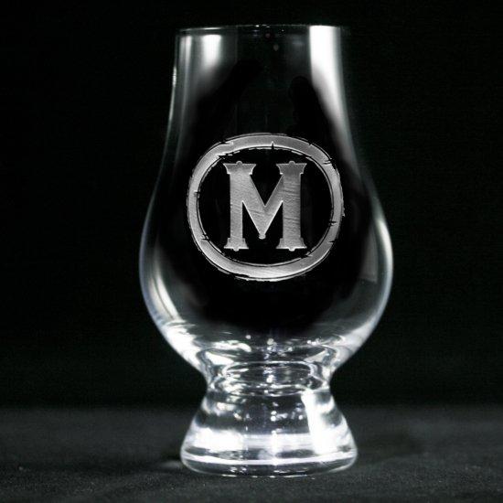 Monogrammed Glencairn Scotch Whiskey Glass