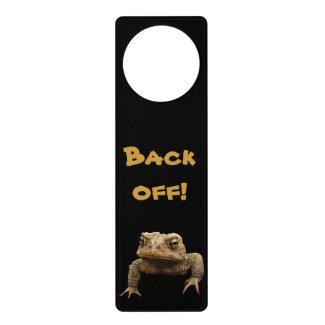 American Toad Door Hanger