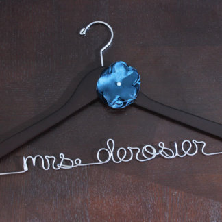 Personalized Bridal Event Hanger Hangers