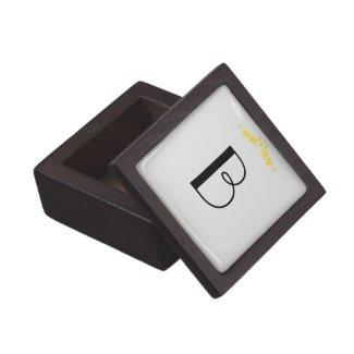 Monogram Keepsake Box