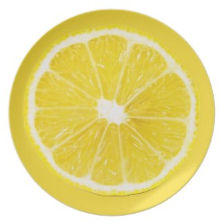 lemon slice plate