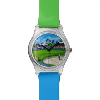 Golf Themed May 28th Wristwatch