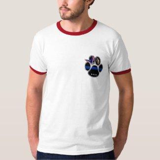 Men's German Shepherd K-9 Ringer T-Shirt