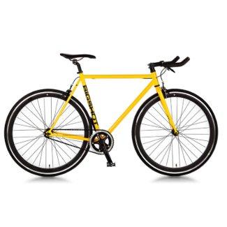 Yellow & Black Lightweight Fixie Road Bike