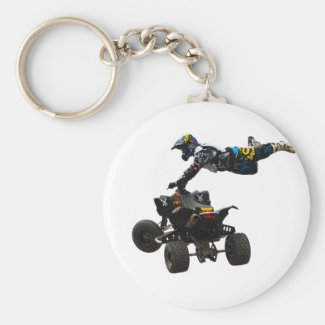quad bike keychain