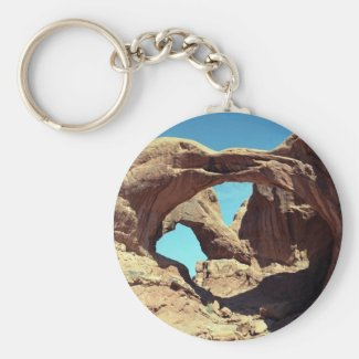 Double Arch Keychain