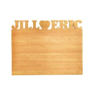 Tabla de cortar de madera - pequeña