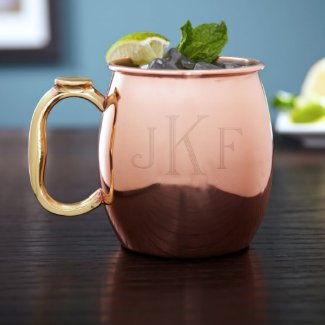 Classic Monogram 20 oz. Moscow Mule Cocktail Glass